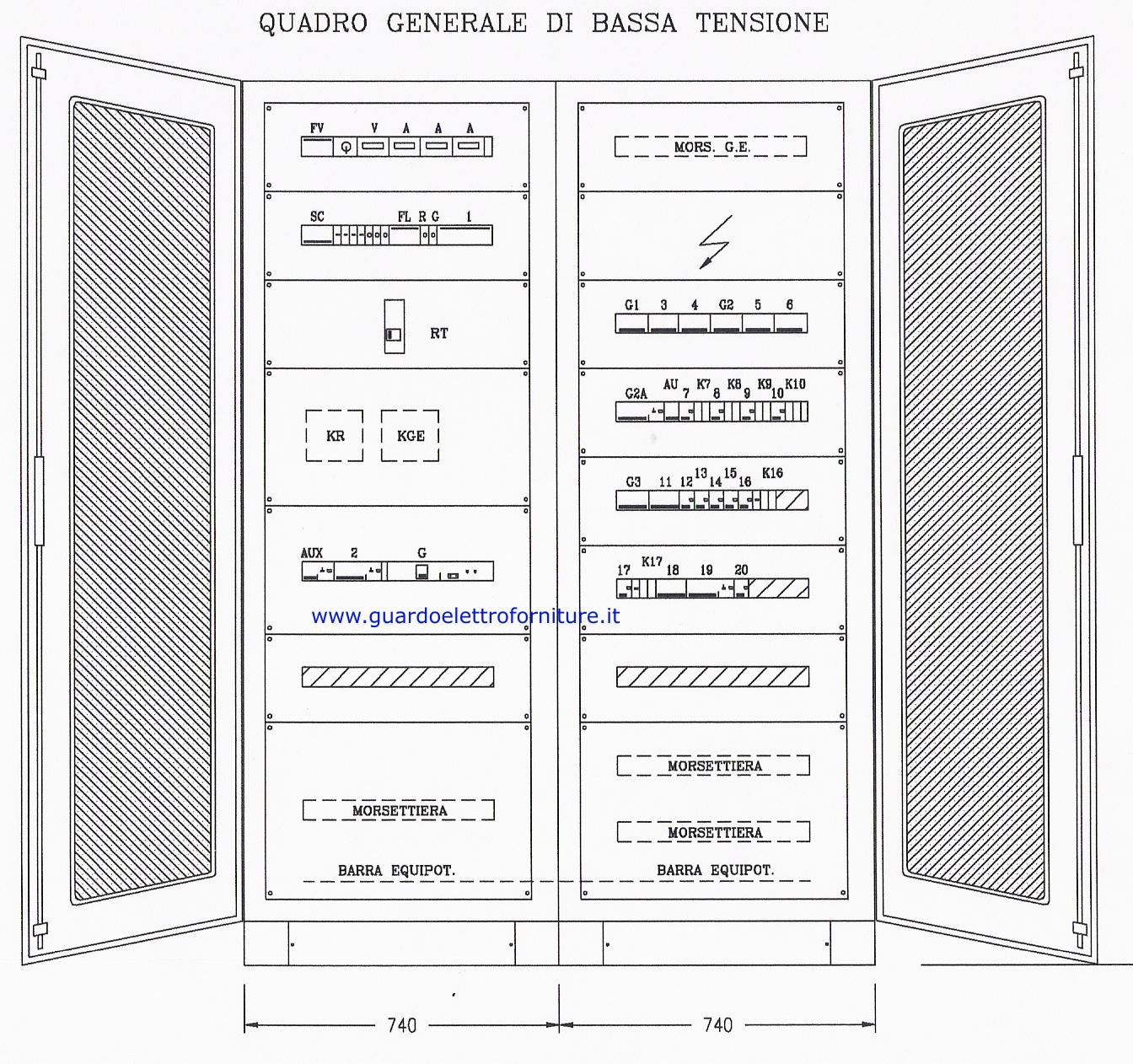 Schema Elettrico Quadro Pego : Schema elettrico quadro fare di una mosca